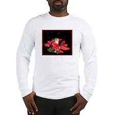 Christmas Night Squirrel Long Sleeve T-Shirt