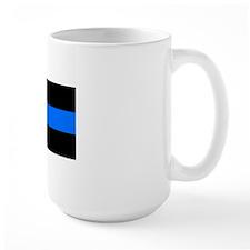 thin blue line r Mug