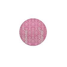 flip_flops_2_bridesmaid_01 Mini Button