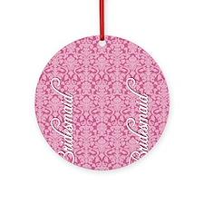 flip_flops_2_bridesmaid_01 Round Ornament