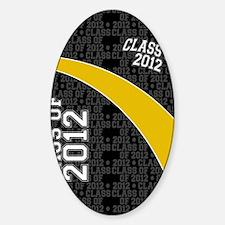 flip_flops_class_of_2012_03 Sticker (Oval)