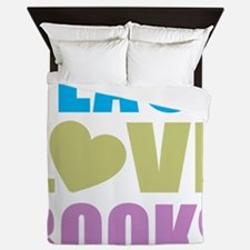 peacelovebooks Queen Duvet