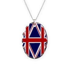 flip_flops_2_union_jack Necklace