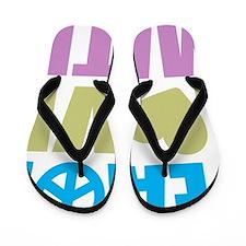 peacelovemath Flip Flops