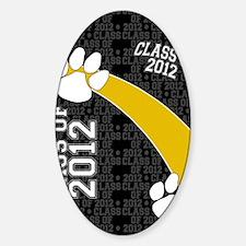 flip_flops_class_of_2012_04 Sticker (Oval)
