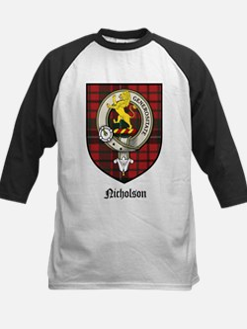 Nicholson Clan Crest Tartan Tee