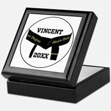 Martial Arts 1st Degree Black Belt Keepsake Box