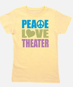 peacelovetheater Girl's Tee