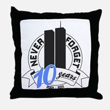 10yrs-Nev-For-2 Throw Pillow