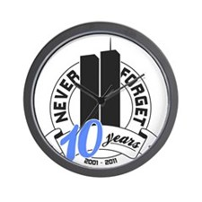 10yrs-Nev-For-2 Wall Clock