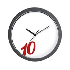 10yrs-NeverForget-1 Wall Clock