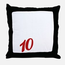 10yrs-NeverForget-1 Throw Pillow