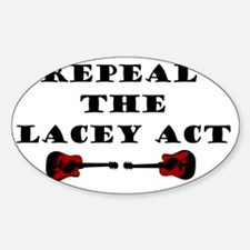rEPEAL Sticker (Oval)