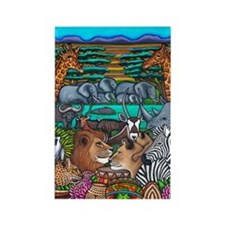 Colours Of Africa Safari Magnet Magnets