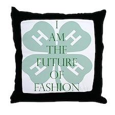 Future of Fashion 4H Throw Pillow