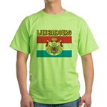 Luxembourg Flag Green T-Shirt