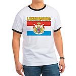 Luxembourg Flag Ringer T