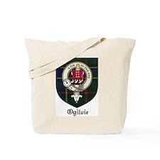 Ogilvie Clan Crest Tartan Tote Bag