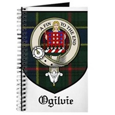 Ogilvie Clan Crest Tartan Journal