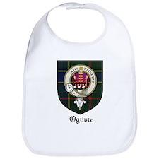 Ogilvie Clan Crest Tartan Bib