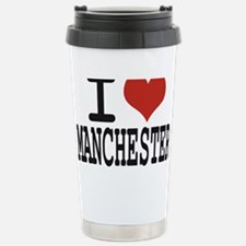 I love Manchester Stainless Steel Travel Mug