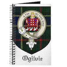 Ogilvie Clan Crest Tartan Journal