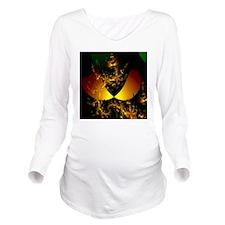 balance2-square Long Sleeve Maternity T-Shirt