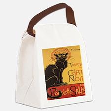 chatnoirmouse Canvas Lunch Bag