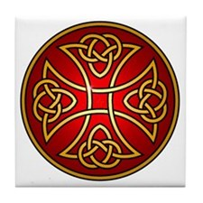 red cross PNG Tile Coaster