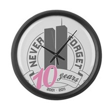 10yrs-womans-2 Large Wall Clock