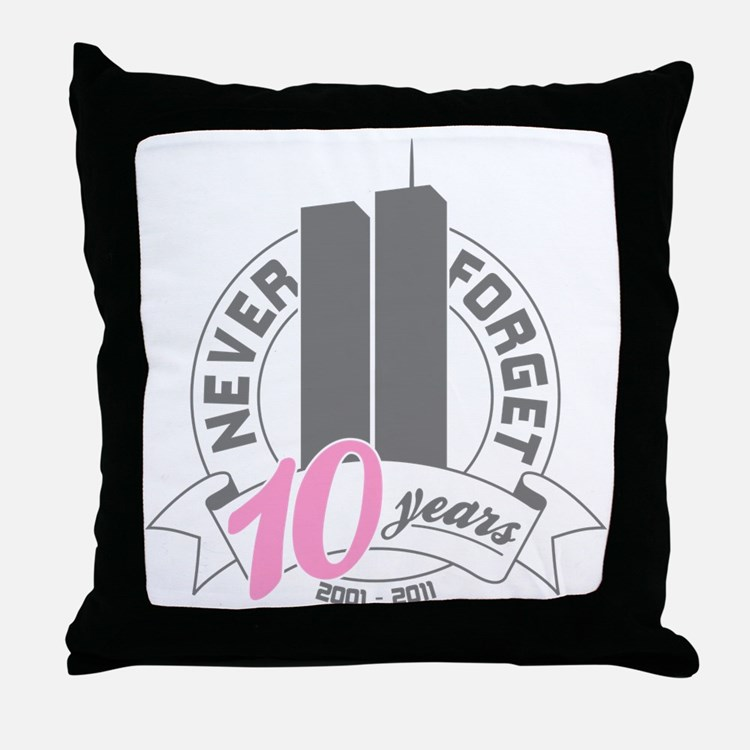 10yrs-womans-2 Throw Pillow