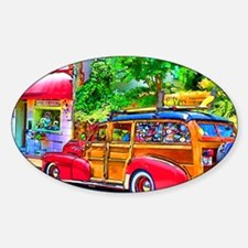 Woody Art Decal