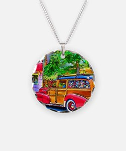 Woody Art Necklace