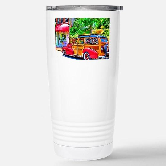 Woody Art Stainless Steel Travel Mug