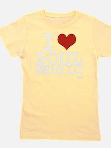 I love Soul Music Girl's Tee