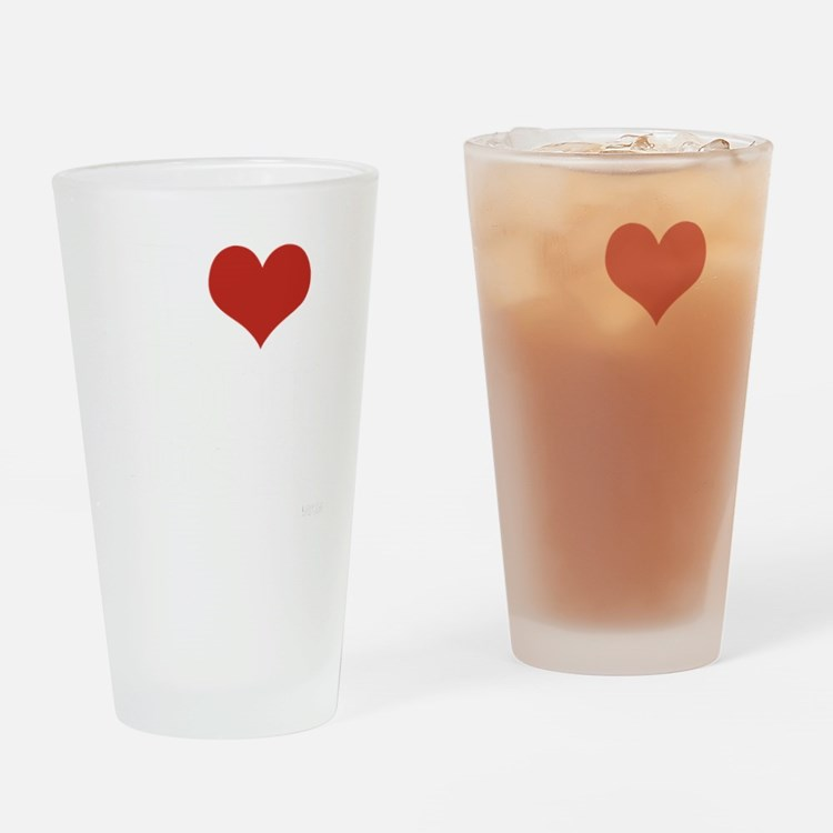I love Soul Music Drinking Glass