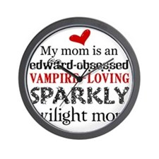 Sparkly Baby Mom2 Wall Clock