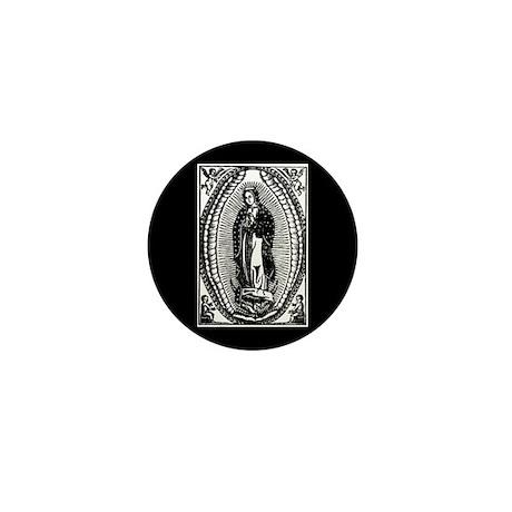 Virgen de Guadalupe Mini Button