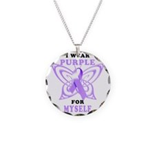 I Wear Purple for Myself Necklace