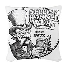 BBAWShirt-Front Woven Throw Pillow