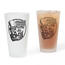 BBAWShirt-Front Drinking Glass