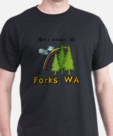 Forks Nowhere B T-Shirt
