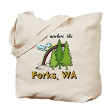 Forks Nowhere B Tote Bag