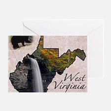 West Virginia Greeting Card