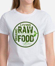 RAWFOODBUTTON2 Women's T-Shirt