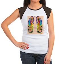 Persian Lion alt Women's Cap Sleeve T-Shirt