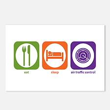 Eat Sleep Air Traffic Postcards (Package of 8)