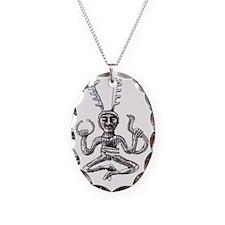 cernunnos large PNG Necklace Oval Charm