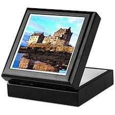 Scottish Castle Keepsake Box
