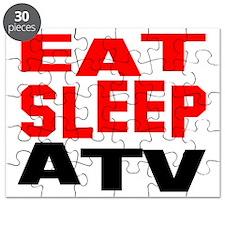 eat sleep atv w Puzzle